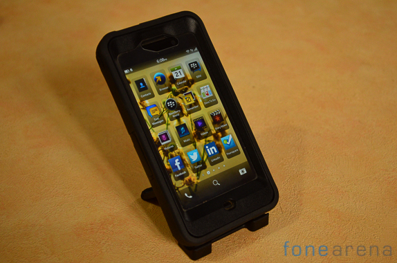Otterbox case for Blackberry Z10 review