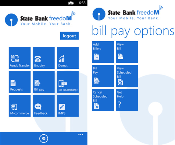 State Bank Freedom For Windows Phone