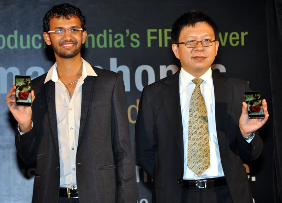 ZTE India launch event