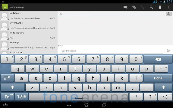 Asus Padfone Infinity Messaging Tablet View