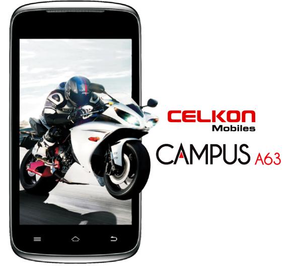 Celkon Campus A63