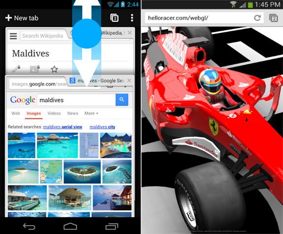 Chrome v30 Beta for Android