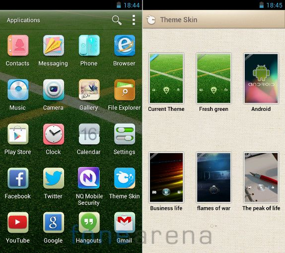 Gionee GPad G2 Apps and Themes