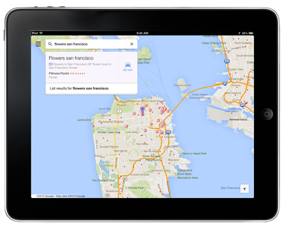 Google Introduces Advertising on Google Maps