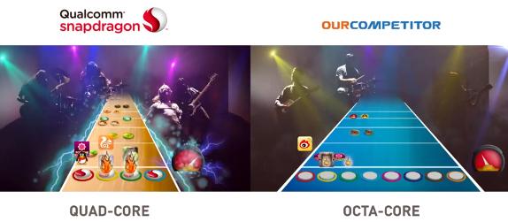 Qualcomm Better Cores promo MediaTek