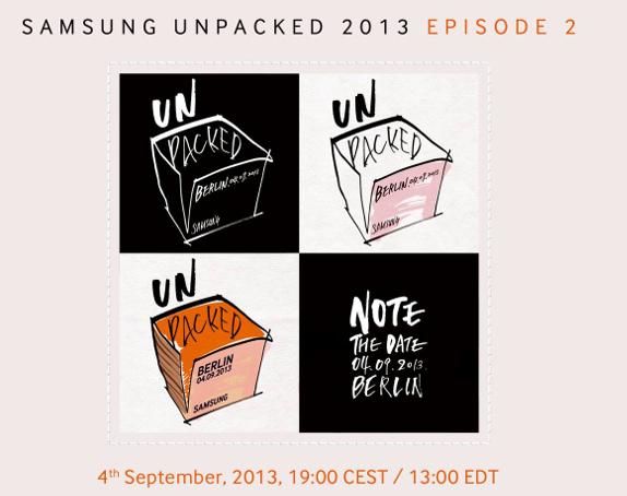 Samsung IFA 2013 Galaxy Note 3 and Galaxy Gear Live blog