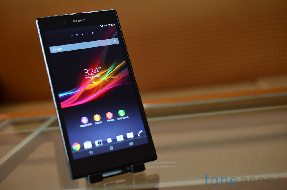 Sony Xperia Z1 and Z Ultra get new firmware updates to improve