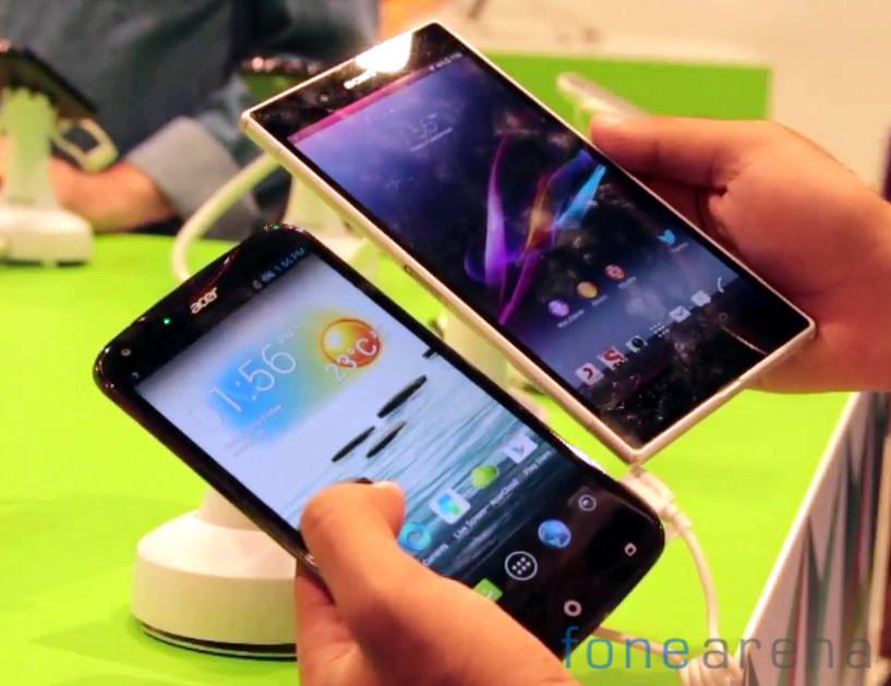 Acer Liquid S2  vs Sony Xperia Z Ultra