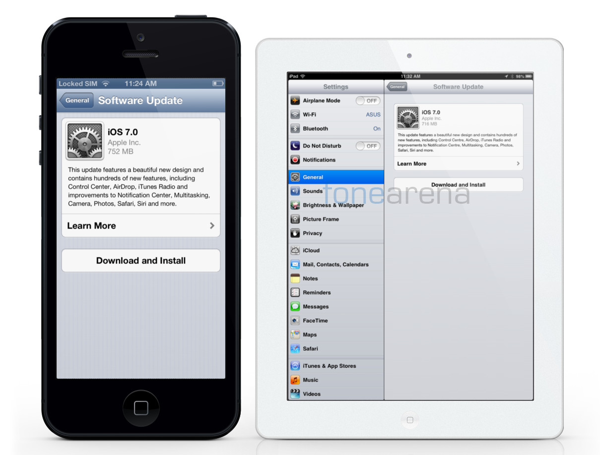 Apple releases iOS 7 for iPhone, iPad and iPod Touch