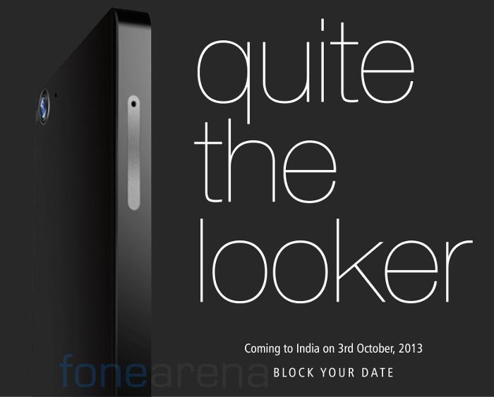 Gionee Elife E6 India launch Invite