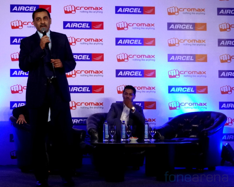 Micormax and Aircel event