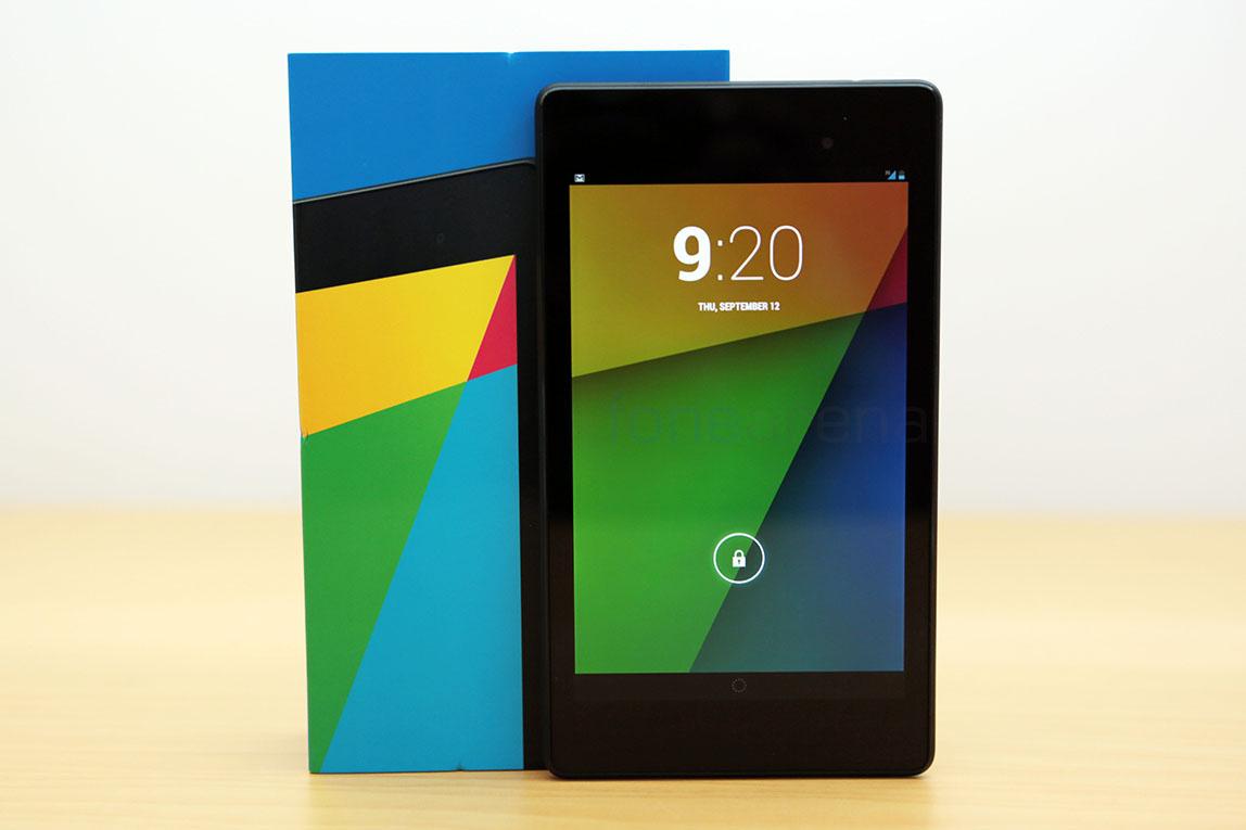 Google Nexus 7 2013 Lte Version Unboxing