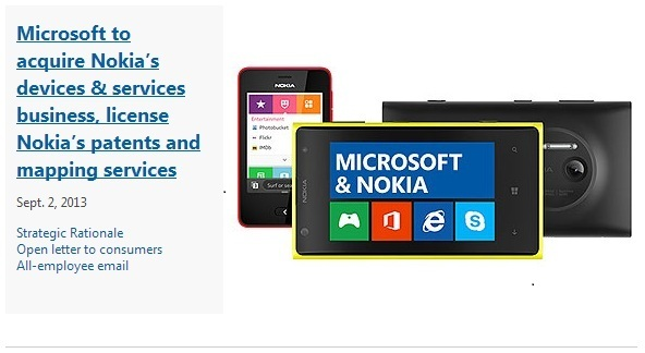 Nokia acquisition