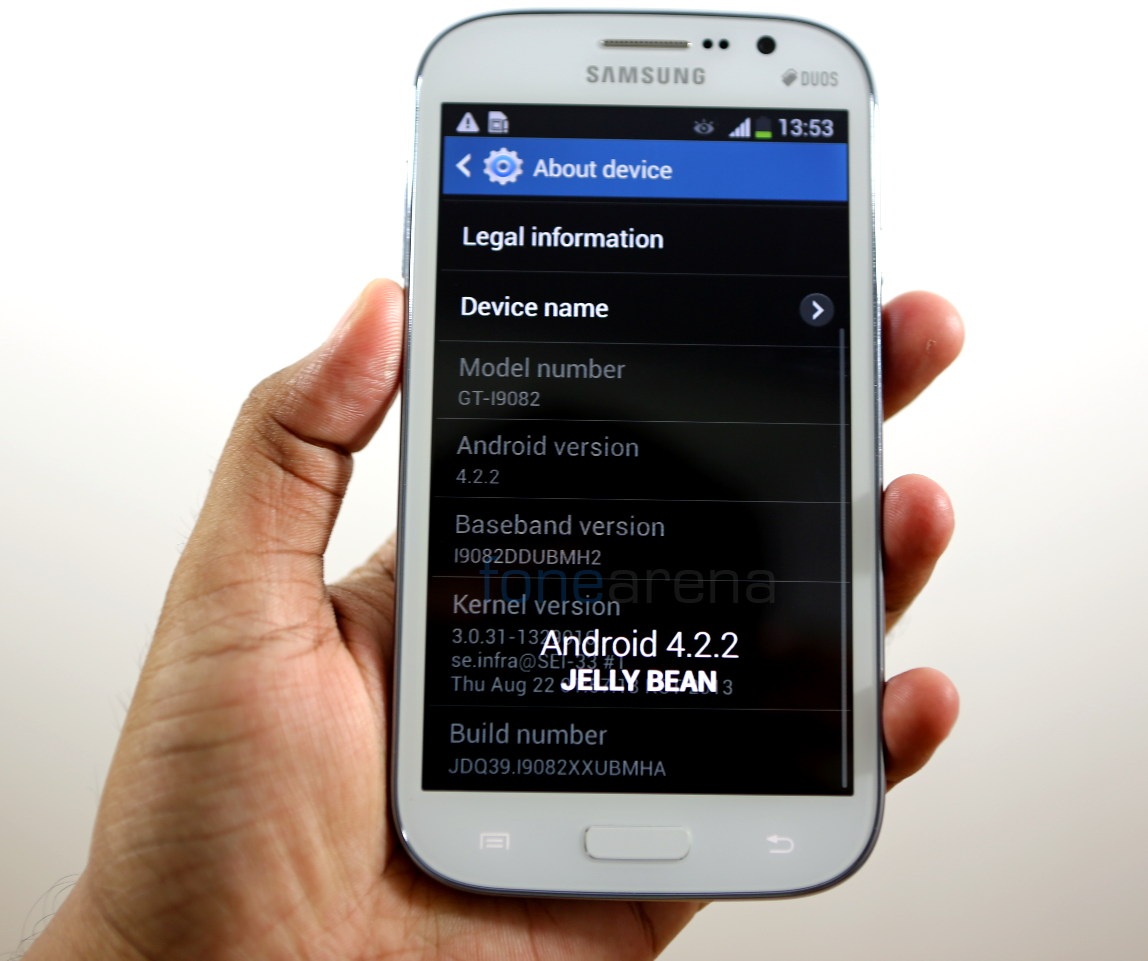 Samsung Galaxy Grand Duos Android 42