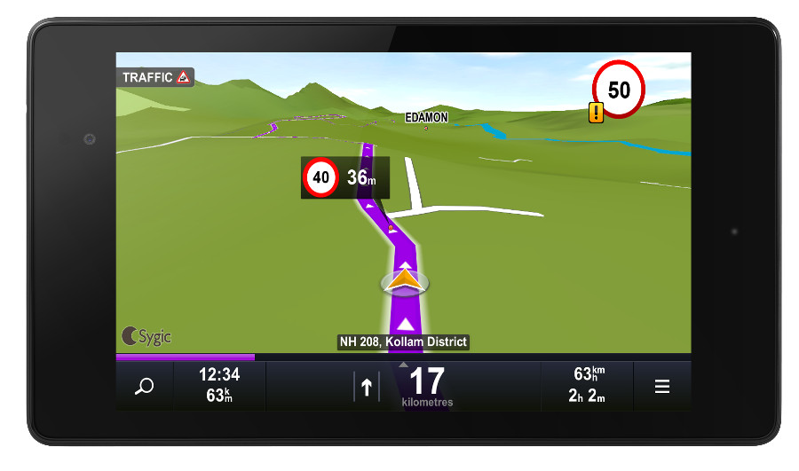 Sygic mapmyindia offline gps navigation app goes free for android gumiabroncs Image collections