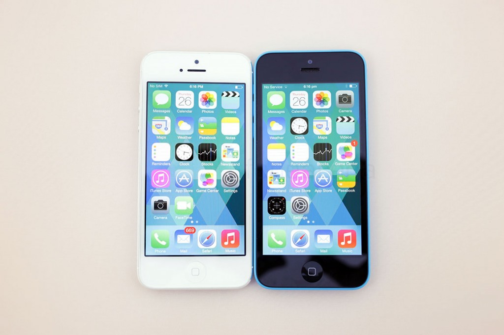 how tall is the iphone 5c apple iphone 5c vs iphone 5 a side by side comparison of 18533