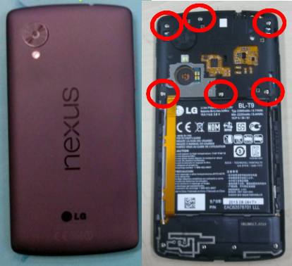 best loved 377d1 63251 Google Nexus 5 complete specifications revealed in leaked service manual