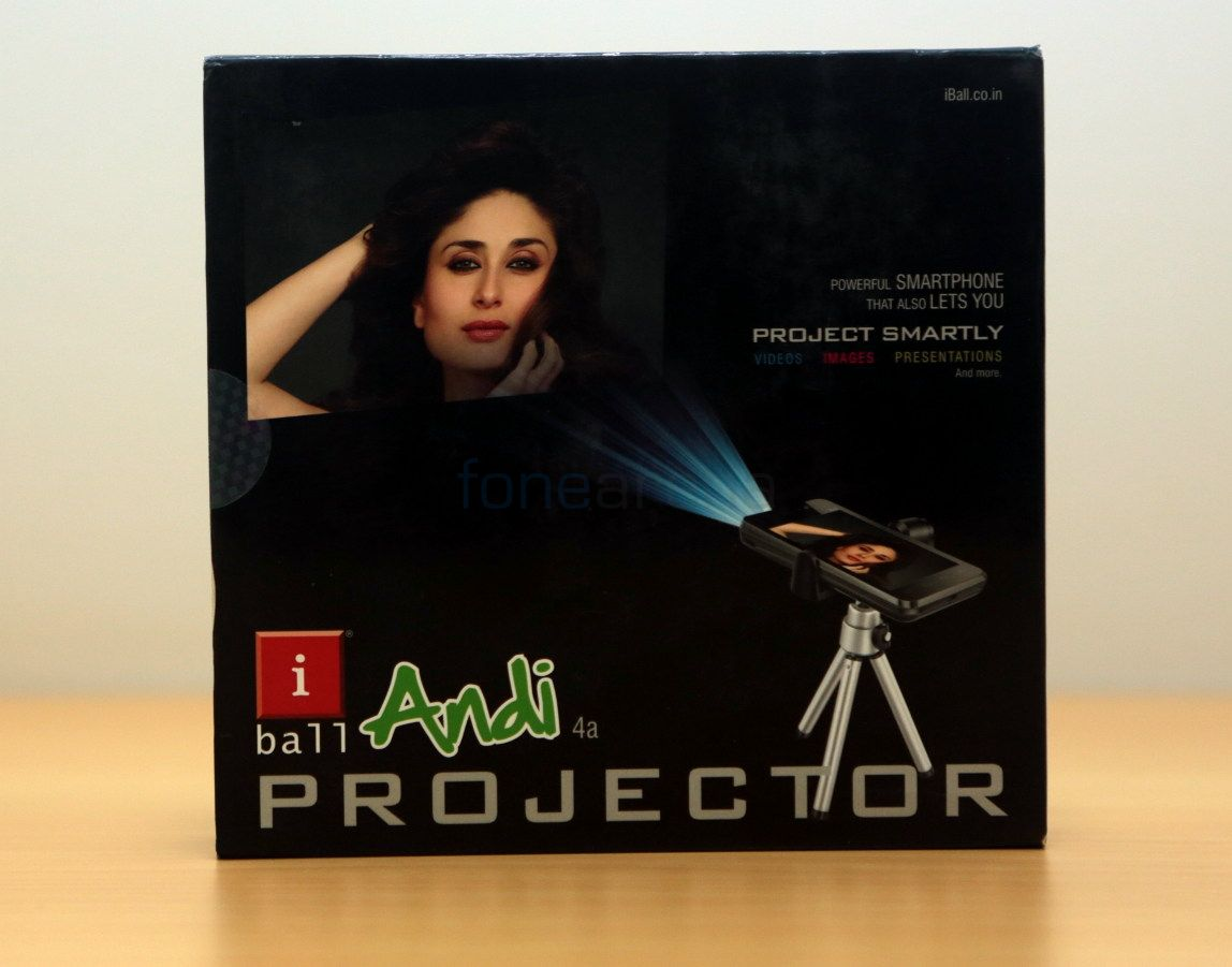 iBall Andi 4a Projector Unboxing-11