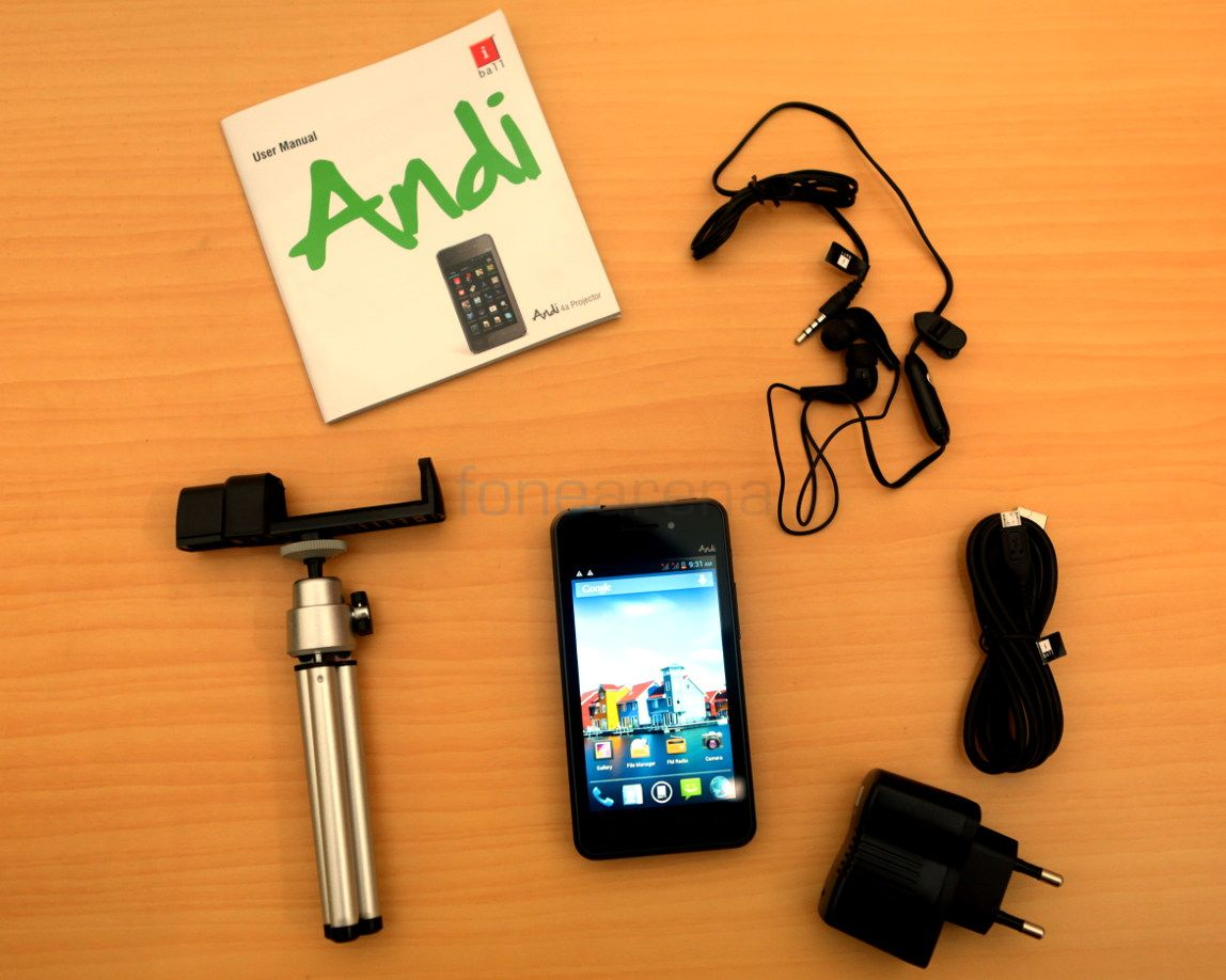 iBall Andi 4a Projector Unboxing-8