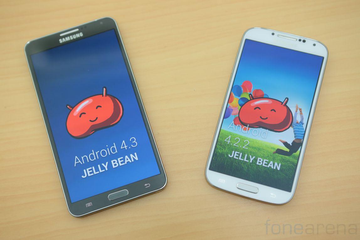 Samsung Galaxy Note 3 vs Samsung Galaxy S4