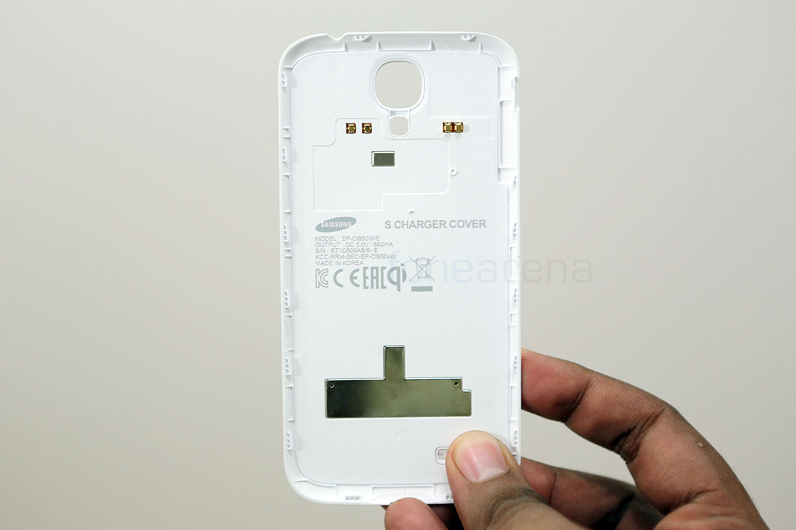 best service 93877 a712f Samsung Galaxy S4 S Charger Wireless Charging Cover Unboxing and Demo