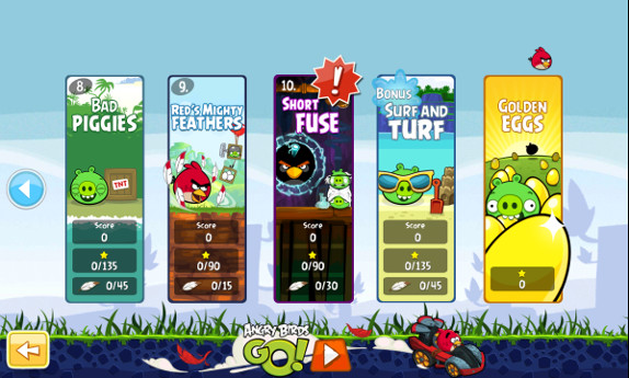 Angry Birds Is Now Updated with Powers, New Levels and Ability to Remove The Advertising