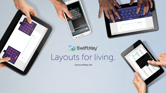 SwiftKey 4.3 Layouts for Living