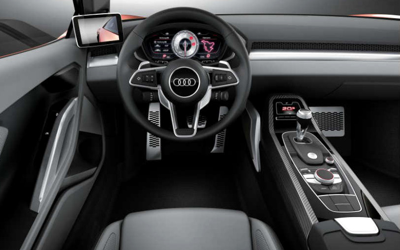 Google Audi To Announce AndroidBased Incar Infotainment System At - Google audi car