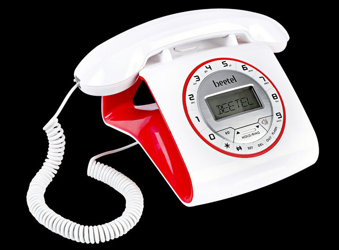 Beetel launches Retro Phone, a stylish landline phone for Rs