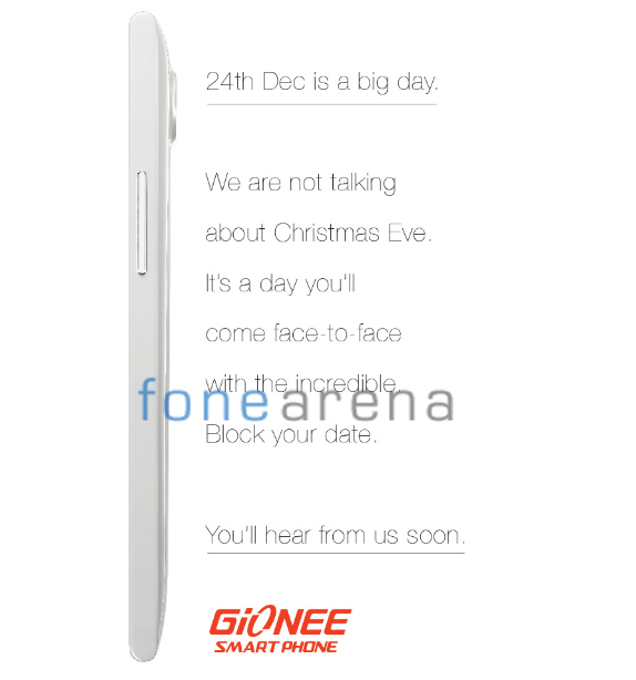 Gionee Elife E7 India launch