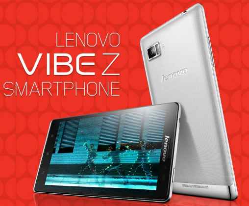 Lenovo Vibe Z With 55 Inch 1080p Display Snapdragon 800 Processor