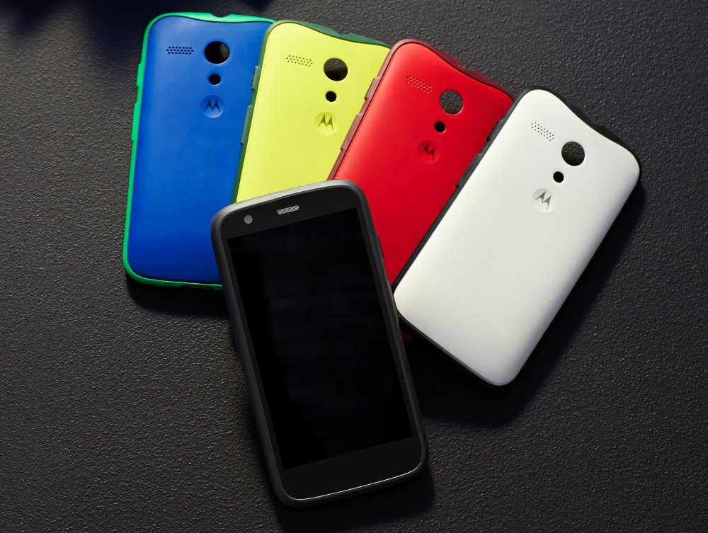 outlet store 426c0 95f12 Moto G Back Cover, Grip Cover and Flip Cover get priced in India