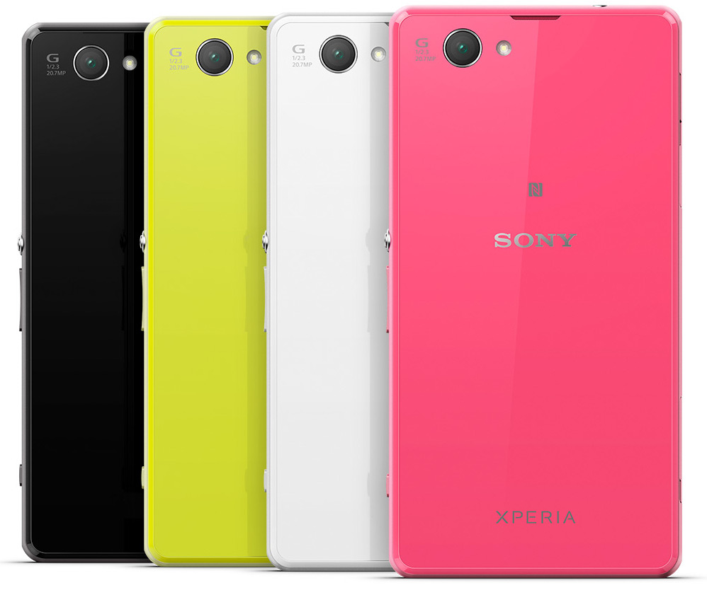 Sony Xperia Z1 Compact With 4 3 Inch 720p Display 20 7 Mp Camera