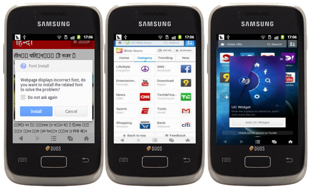 UC Browser 9 5 for Android brings new features, Tamil and