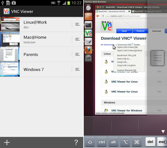VNC Viewer remote access app is now permanently free for Android and iOS