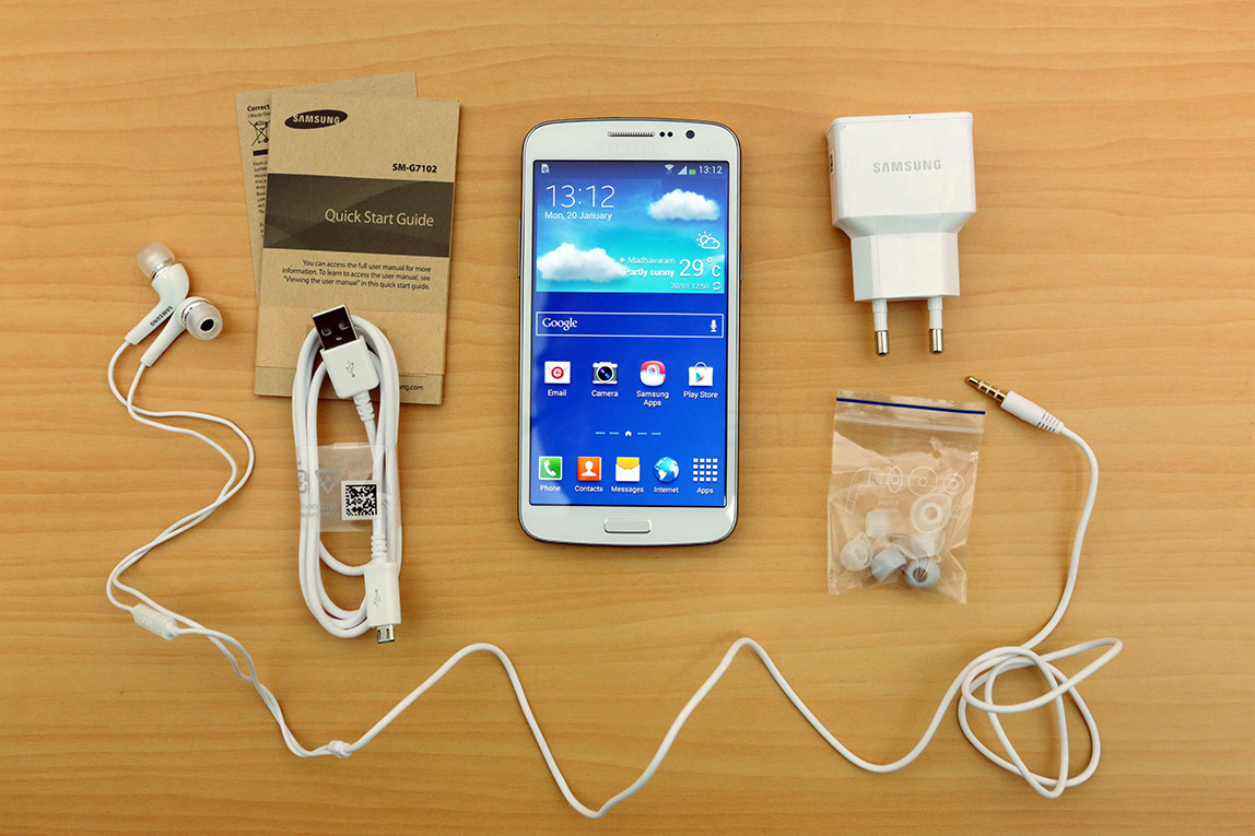 Samsung Galaxy Grand 2 Unboxing And First Impressions