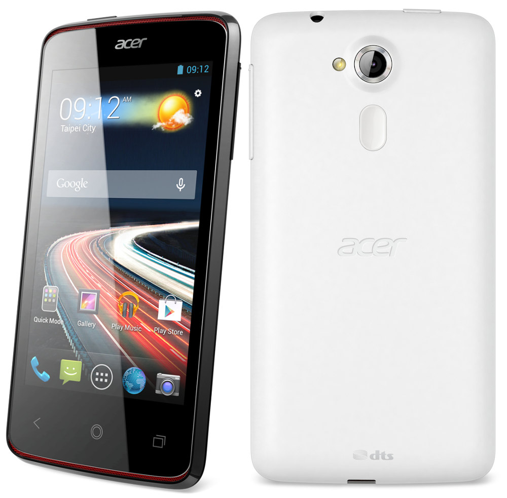 Acer Liquid Z4 With 4 Inch Display 13 Ghz Dual Core Processor Oppo Find 5 Mini Putih