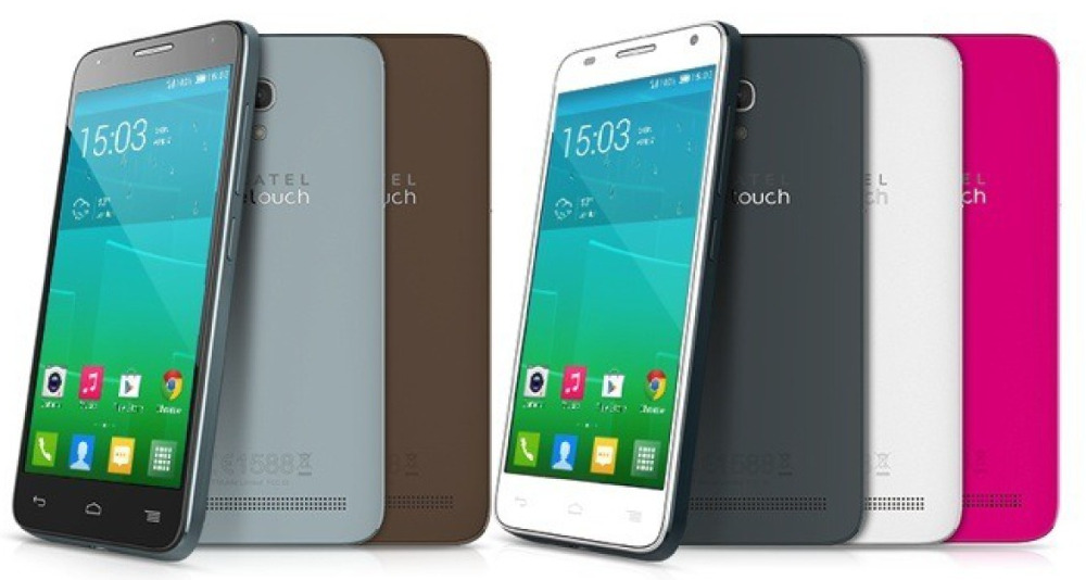 6d031c98a70 Alcatel OneTouch Idol 2, Idol 2 Mini and Pop Fit smartphones announced