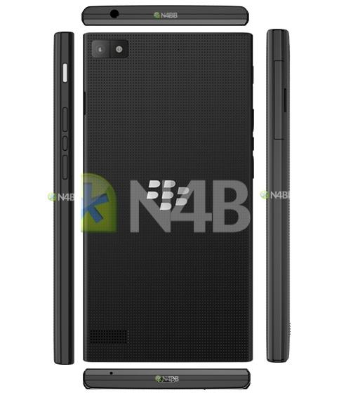 BlackBerry Z3 leak