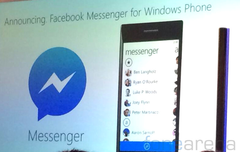 Facebook Messenger for Windows Phone coming soon