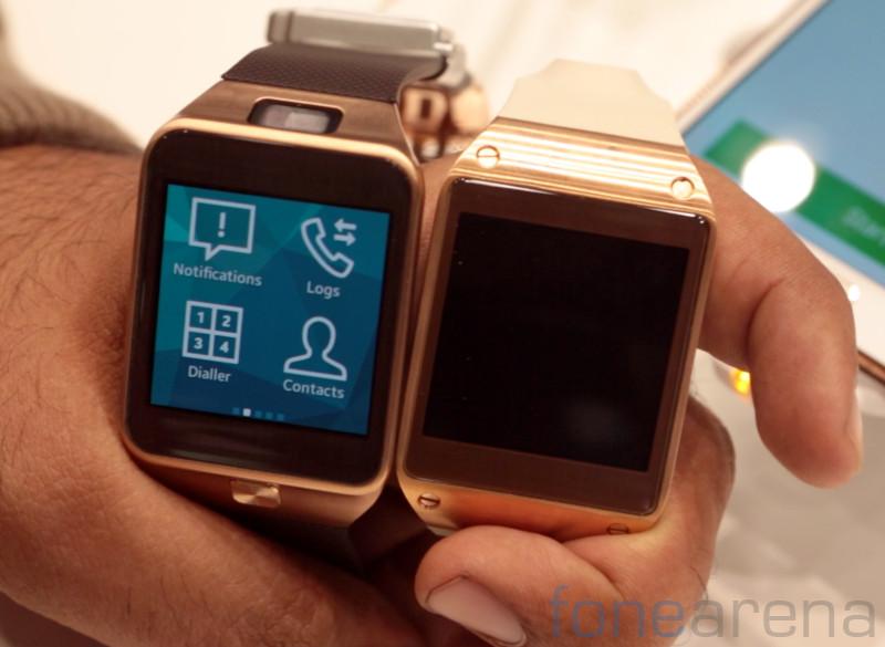 Samsung Gear 2 vs Galaxy Gear Hands On