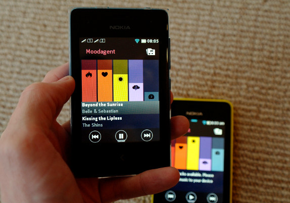 Moodagent music player arrives for Nokia Asha 501, 502 and