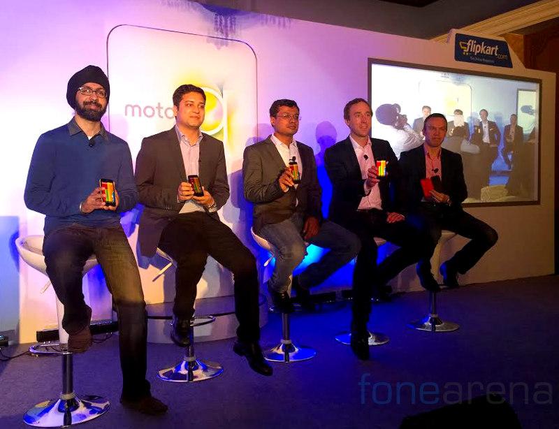 Moto G India launch