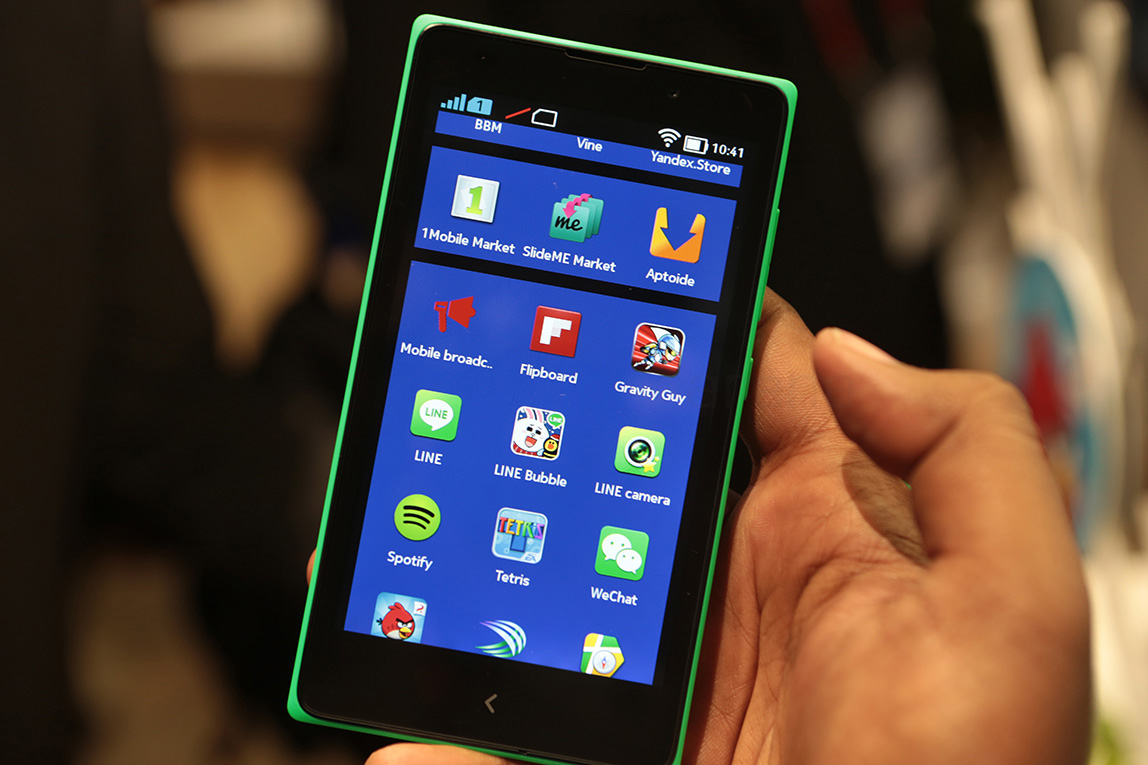 Block a number on your Nokia X with Android 4.1 Jelly Bean by the call log app: