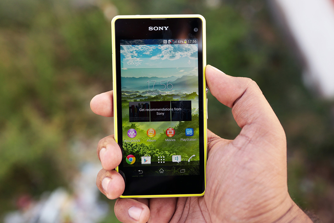 Sony Xperia Z1 Compact Lime Photo Gallery