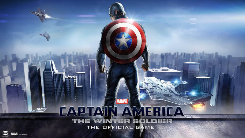 Captain America The Winter Soldier Game Launched For Android