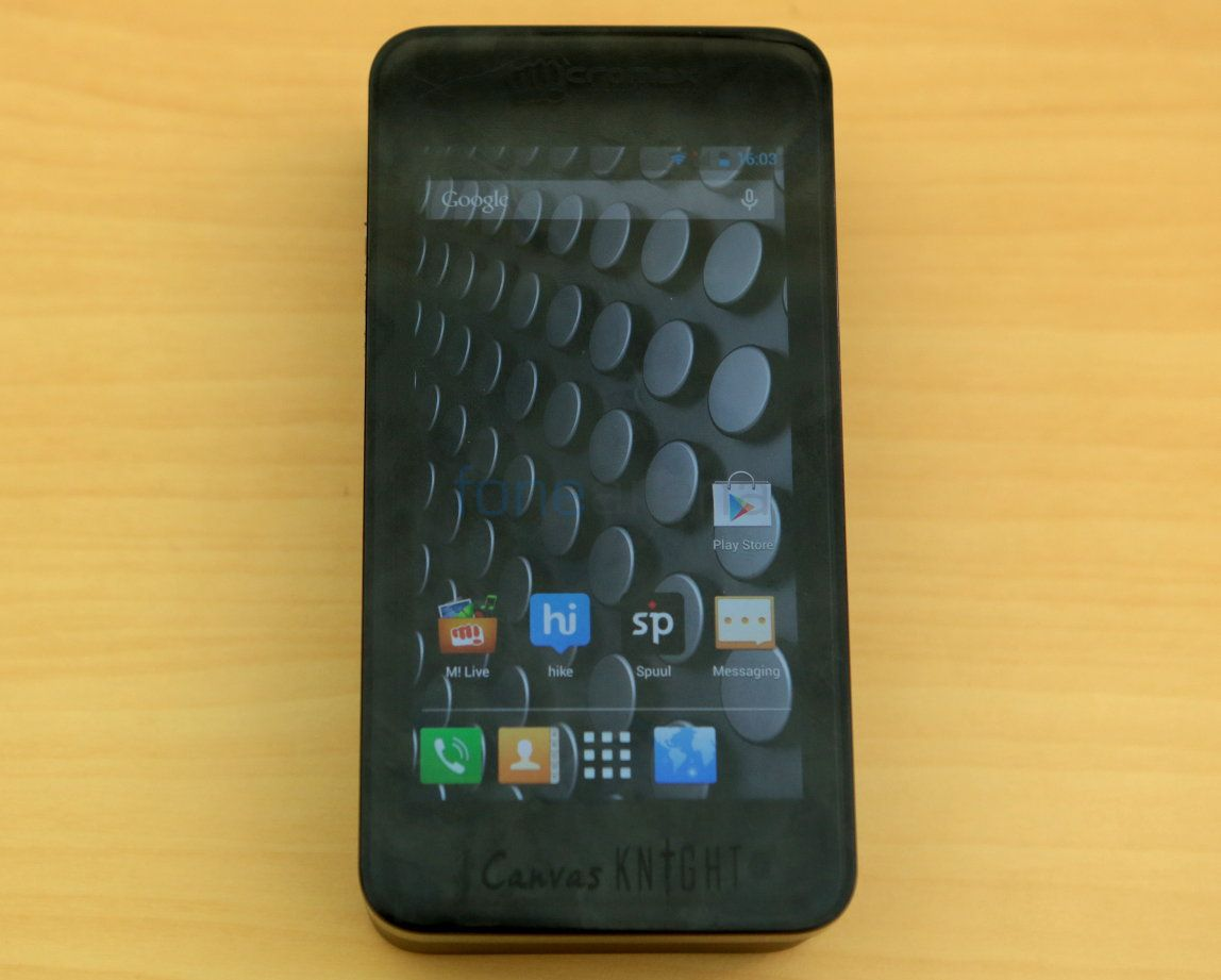 Micromax Canvas Knight A350-9