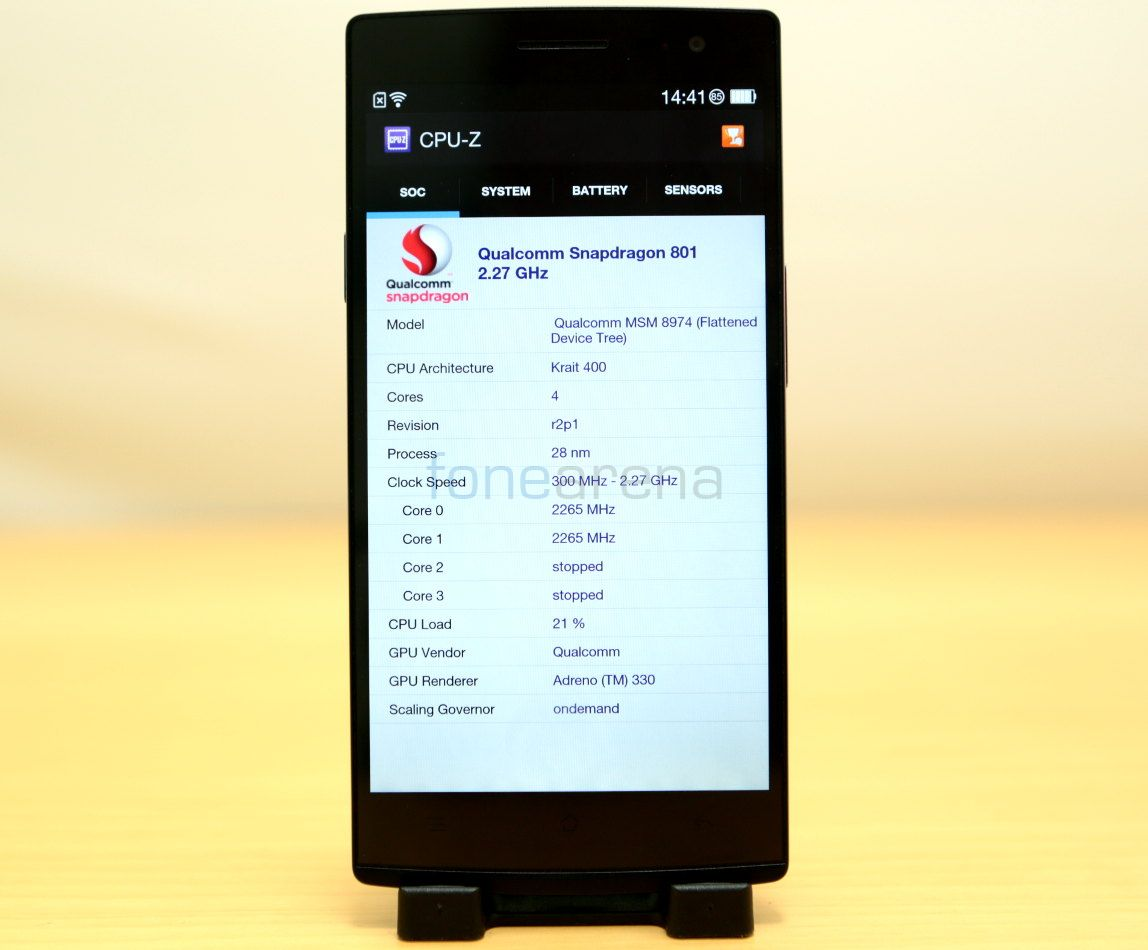Oppo Find 7a Benchmarks