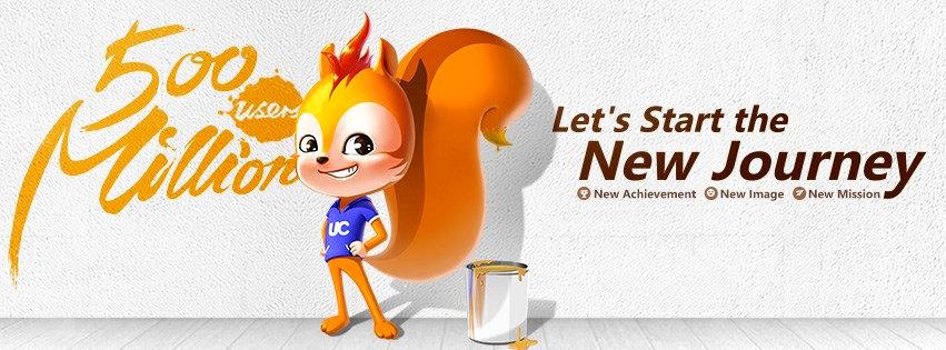 UC Browser 500 million