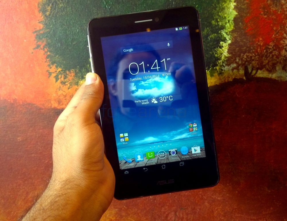 Asus Fonepad 7 Dual SIM launched in India for Rs  12999